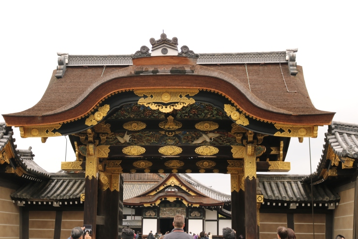 nijo-jo castle gate